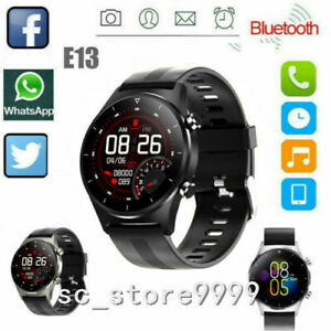 E13 Smart Watch for IOS Android Bluetooth Call Blood oxygen Heart Rate Tracker