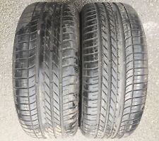 2 pneus d'été Goodyear Eagle F1 Asymmetric vus 4x4 aiguisé 255/50 R19 107W