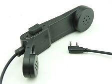 Airsoft tomtac téléphone ptt noir 2 way radio interrupteur SORDINS comtac kenwood 2 pin