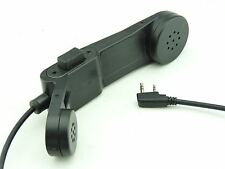 AIRSOFT TOMTAC PHONE PTT BLACK 2 WAY RADIO SWITCH SORDINS COMTAC KENWOOD 2 PIN