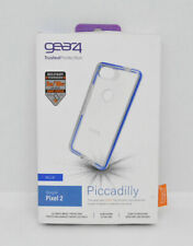 New OEM Gear4 Piccadilly Clear/Blue Protection Case for Google Pixel 2
