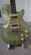 Michael Kelly Patriot Decree Electric Guitar Coral Blue Les Paul Type, coil taps