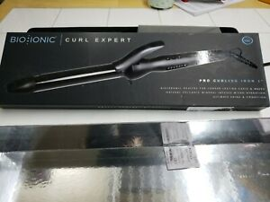 BIO IONIC Curl Expert Pro Curling Iron 1 Inch BOXES ARE DISTRESSED