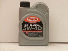 Meguin Megol High condition 5w-40 1 L. Auto Olio Motore MB 229.5 VW 50200 50500