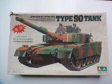 Japan  Self Defense Force Type 90 Main Battle Tank AA motorised Model kit NIOB