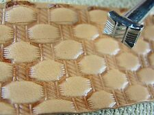 Steel Kyoshin Elle - #X512 Small Rope Basket Weave Stamp (Leather Stamping Tool)