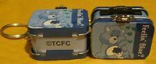 Care Bears Mini Lunchbox Keychain Feelin' Blue? GRUMPY Bear Keychain