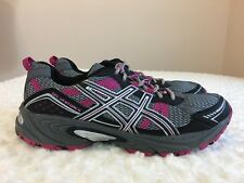 ASICS GEL VENTURE 4 Women  Shoes Size 10 Gray and Pink Sneakers  Spot Athletics