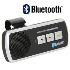 Kit Vivavoce Bluetooth Per Auto Universale Speaker Smartphone Tablet hsb