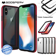 iPhone X XS Case 7 8 Plus Mercury Goospery Bumper X Clear TPU Cover for Apple