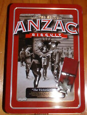 "COLLECTABLE ~ 2013 LIMITED EDITION ANZAC BISCUIT TIN ""THE VICTORIA CROSS"""