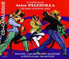 Various Artists : La Musicas de Astor Piazzolla: The Spiri CD