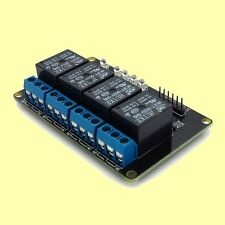 4 Channel 5V Relay Module for Arduino PIC ARM AVR Microcontroller DIY Projects