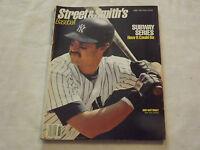 VINTAGE BASEBALL 1988 NEW YORK YANKEES DON MATTINGLY STREET & SMITH'S MAGAZINE