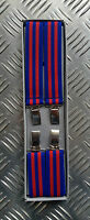 Retro Vintage Unisex Slim Clip-On Braces/Suspenders Adjustable - NEW x 10 pairs