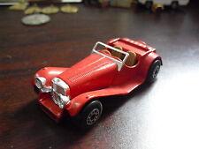 Vintage 1982 Matchbox Red SS 100 Jaguar Car LOOK