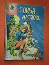 COMANDANTE MARK COLLANA ARALDO-DA LIRE 200 N°31 ORIGINALE CON LA- A-1967 BONELL