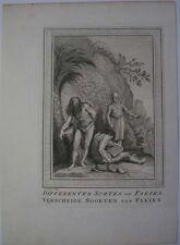 1750s grabado indio Fakires Faqirs musulmán o hindú Penitents hombres santos de la India
