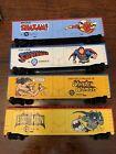 Tyco Super Hero Cars 1970's Batman Wonder Woman Superman Shazam DC Comics Boxed