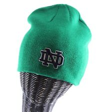 green NOTRE DAME FIGHTING IRISH beanie cap stocking hat zephyr one size