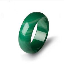 vogue light green jade agate jadeite AA grade thumb ring 8-9#10#
