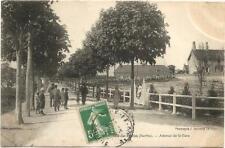 Parigné le Polin (72) Avenue de la gare. Postée en 1912.