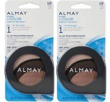 Almay Intense i-Color All Day Wear Powder Eye Shadow, 110 Blues, Lot of 2!