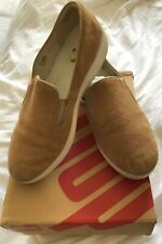 Fitflop Fit Flop SuperSkate Loafers Suede Size 7 EU 41 Wobble Board Shoes £90