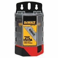 DEWALT DWHT11004L Heavy Duty Utility Blades, 75-Pack