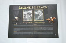 BART CUMMINGS T J SMITH LEGENDS OF THE TRACK SIGNED LIMITED EDITION PRINT