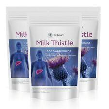 2000MG x MILK THISTLE Tablets, Liver Support, Gall Bladder Detox & Cholesterol