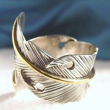 Sterling Silver Feather Handcrafted Rings