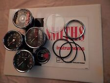 UK MADE!!!! SMITHS MAGNETIC BEZEL KIT GLASS SEALS TRIUMPH NORTON BSA MATCHLESS