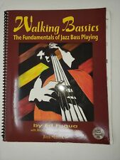 Upright Bass Walking Bassics Jazz Book for Double Bass !No Reserve!