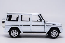 Welly 1:24 Mercedes Benz G-Class G55 G500 White Diecast Model Car New in Box
