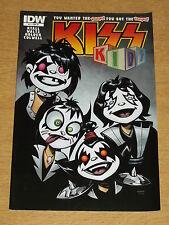KISS KIDS #1 VF (8.0) IDW RI VARIANT COVER AUGUST 2013