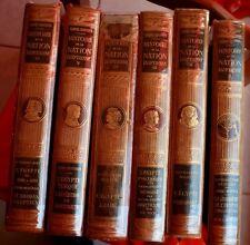 HISTOIRE DE LA NATION ÉGYPTIENNE - 1931 - VOLUMES RELIURE EDITEUR