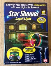 Star Shower Laser Christmas Lights 3000 Sq. Feet Projector Holiday Party Decor