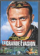 DVD ZONE 2--LA GRANDE EVASION--McQUEEN/GARNER/ATTENBOROUGH/STURGESS
