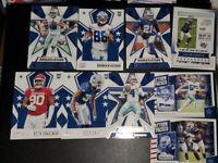 2020 Panini Rookies & Stars 9 card lot CEEDEE LAMB dak Ezekiel Dallas Cowboys