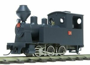 HOn30 HOe OO9 Brass & Whitemetal 0-6-0 Steam Loco Kit (fully assembled chassis!)
