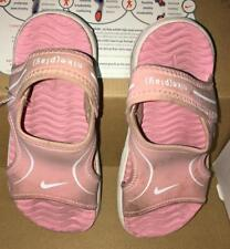Toddler Girls SZ 9 Nike Pink Sandals Little Sunray VII