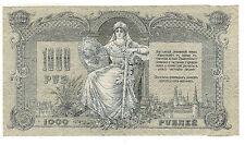 Russie du Sud  billet 1000 roubles 1919 / South russian banknote 1,000 rubles