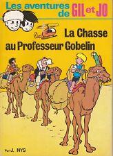 LES AVENTURES DE GIL ET JO La Chasse Au Professeur Gobelin