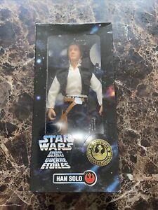 Vintage STAR WARS Collector Series Han Solo 30cm 1996 Kenner Action Figure