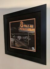 8 MILE MOVIE FRAMED VINYL ALBUM EMINEM SIGNED AUTO SLIM SHADY PSA/DNA RARE!
