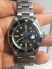 Vintage Rolex Red Submariner 1680 Mark IV Dial Very Rare!