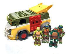 TMNT Teenage Mutant Ninja Turtles Truck Vehicle Playset with toy Figures set