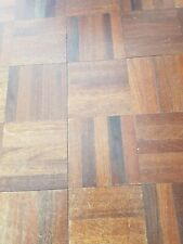Reclaimed 5Finger Mosaic Parquet 11.5x11.5cm Square Solid Oak Flooring 1cm depth