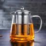 950ml/32oz Glass Teapot with Infuser Tea Stovetop Safe kettle Loose Leaf Tea Pot